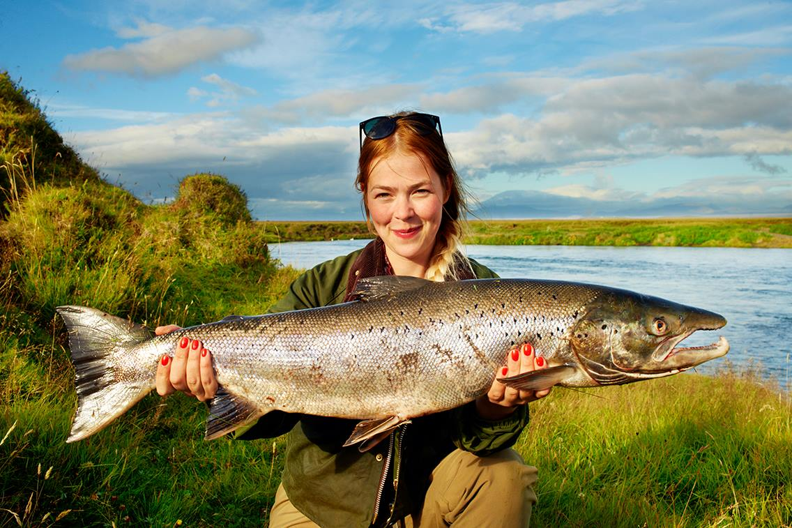 East ranga river lax hunting for Fishing in iceland